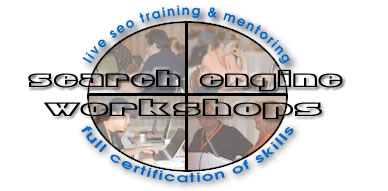Learn the reality of search engine submissions -- Search Engine Workshops graphic